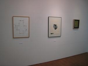 左:管木志雄  右2点:関根伸夫
